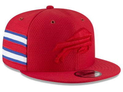 Buffalo Bills New Era 2018 Official NFL Color Rush 9FIFTY Snapback Cap