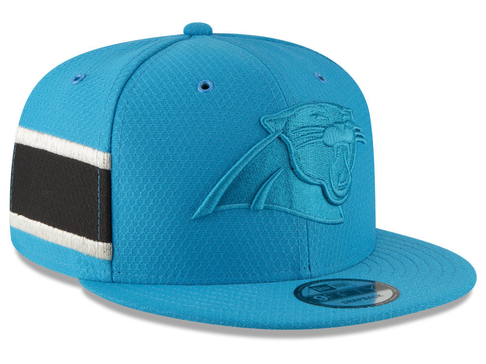 Carolina Panthers New Era 2018 Official NFL Color Rush 9FIFTY Snapback Cap   203a41926