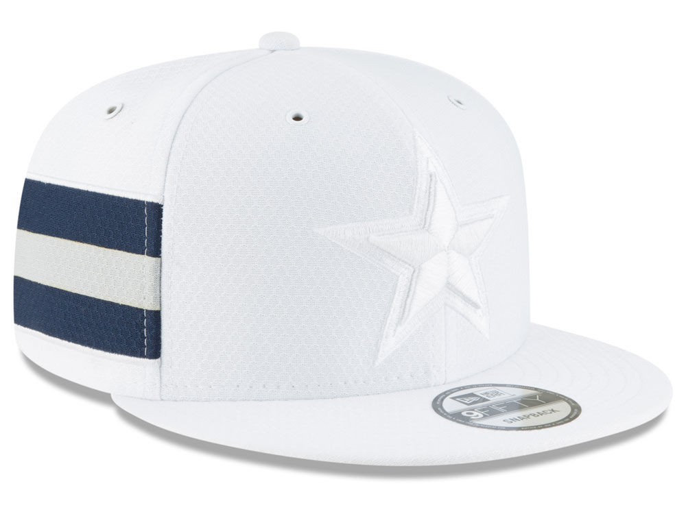 Dallas Cowboys New Era 2018 Official NFL Color Rush 9FIFTY Snapback Cap  6df549b0a7f8