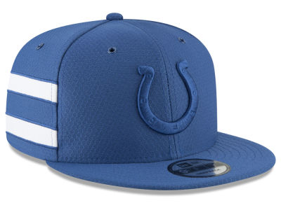 Indianapolis Colts New Era 2018 Official NFL Color Rush 9FIFTY Snapback Cap