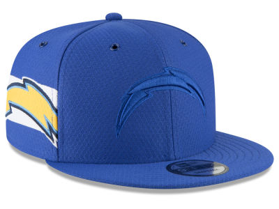 Los Angeles Chargers New Era 2018 Official NFL Color Rush 9FIFTY Snapback Cap