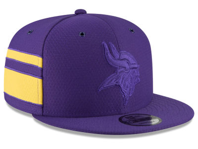 Minnesota Vikings New Era 2018 Official NFL Color Rush 9FIFTY Snapback Cap
