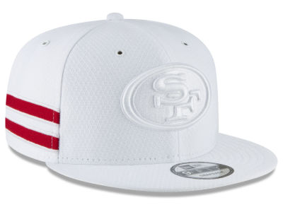 a09bae04d30 San Francisco 49ers New Era 2018 Official NFL Color Rush 9FIFTY Snapback Cap