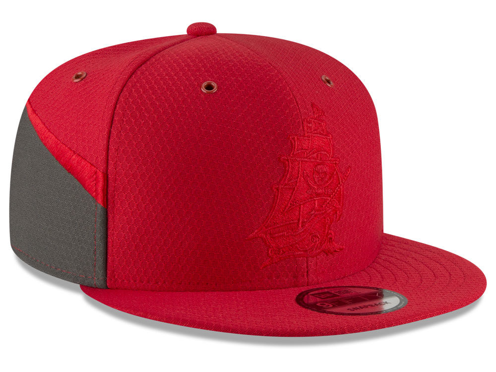 ... red 5206a cba3a discount code for tampa bay buccaneers new era 2018  official nfl color rush 9fifty snapback cap ... e5bb8fc82