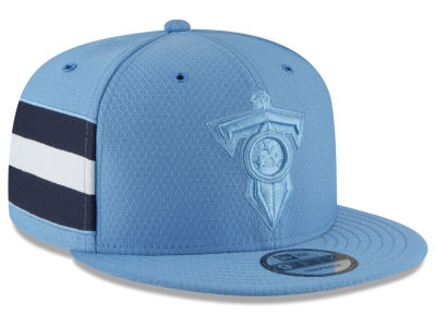 Tennessee Titans New Era 2018 Official NFL Color Rush 9FIFTY Snapback Cap