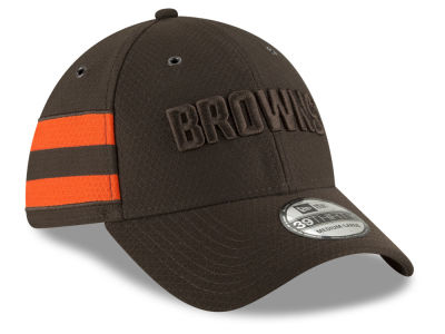 Cleveland Browns New Era 2018 Official NFL Color Rush 39THIRTY Cap