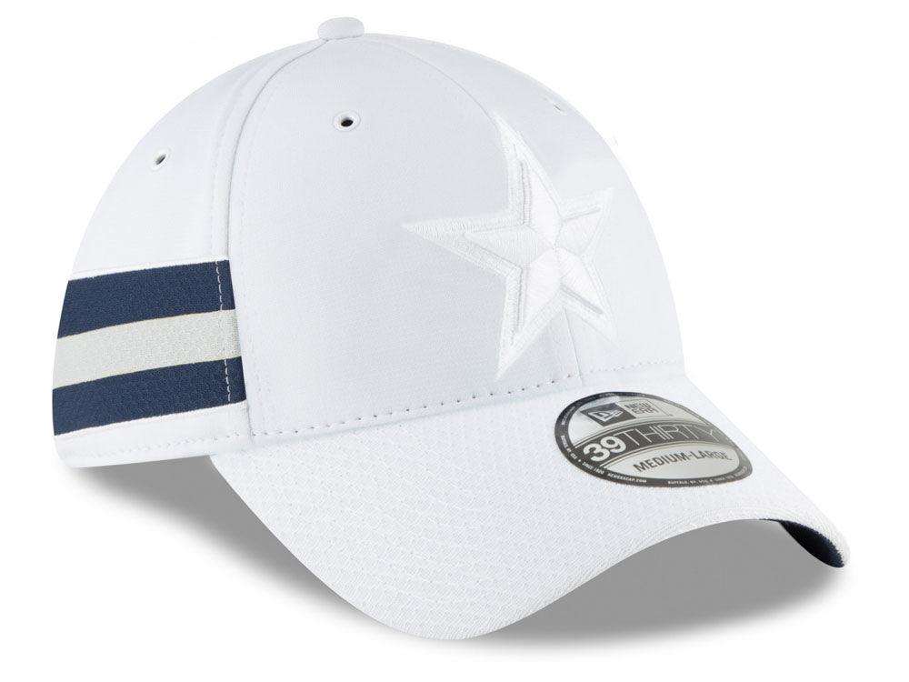 Dallas Cowboys New Era 2018 Official NFL Color Rush 39THIRTY Cap ... 8093e6709