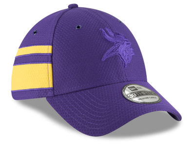 Minnesota Vikings New Era 2018 Official NFL Color Rush 39THIRTY Cap