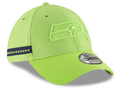 Seattle Seahawks New Era 2018 Official NFL Color Rush 39THIRTY Cap