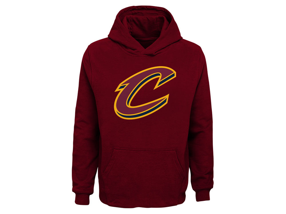 Cleveland Cavaliers Nike NBA Youth Primary Logo Hoodie  4b4843a9506