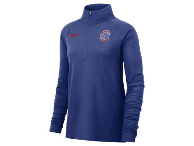 Chicago Cubs Nike MLB Women's Half Zip Core Element Pullover