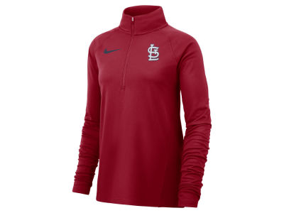 St. Louis Cardinals Nike MLB Women's Half Zip Core Element Pullover