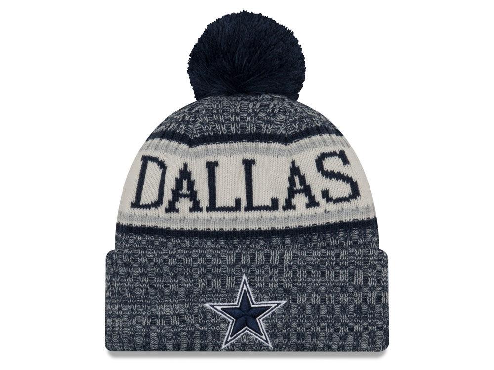 Dallas Cowboys New Era 2018 Nfl Sport Knit Lids