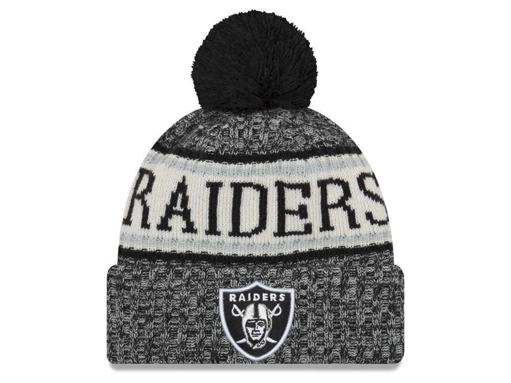 e85a09253c4 Oakland Raiders New Era 2018 NFL Sport Knit