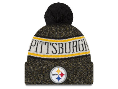 Pittsburgh Steelers New Era 2018 NFL Sport Knit e91de7eb170