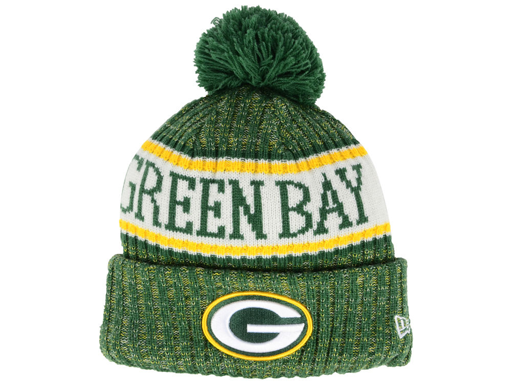 38ac0813f Green Bay Packers New Era 2018 NFL Kids Sport Knit