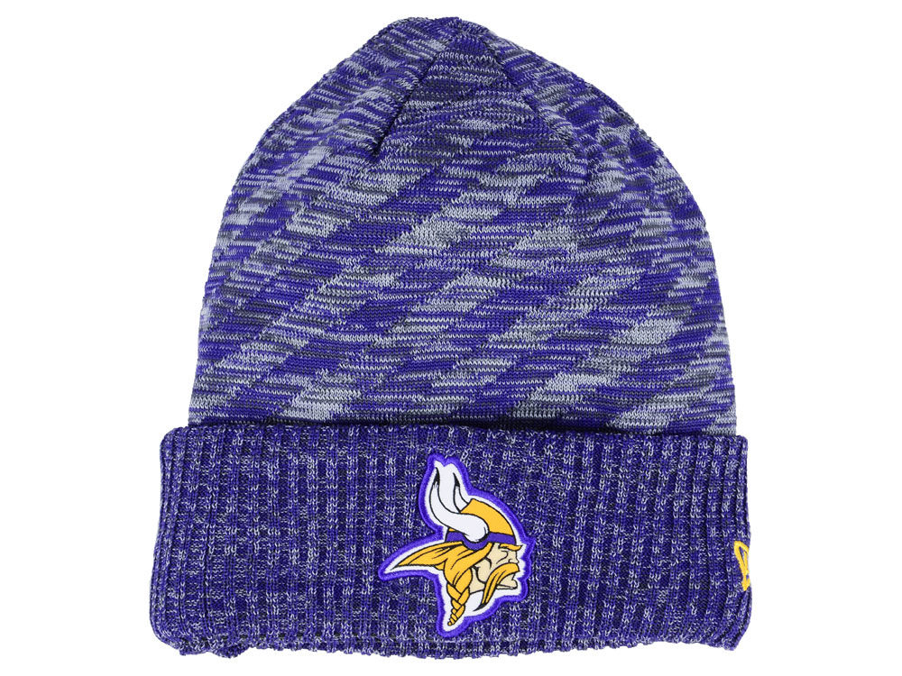 0790ea44 Minnesota Vikings New Era 2018 NFL Kids Touchdown Knit
