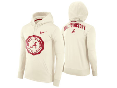 Alabama Crimson Tide Nike NCAA Men's Rivalry Therma Hooded Sweatshirt