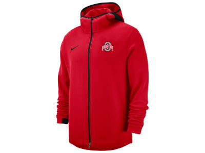 Ohio State Buckeyes Nike NCAA Men s Showtime Full Zip Hooded Jacket 3a13a4d35a87