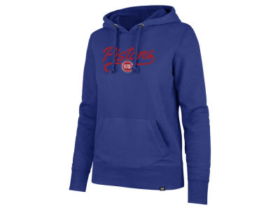 Detroit Pistons '47 NBA Women's Clean Sweep Headline Hoodie