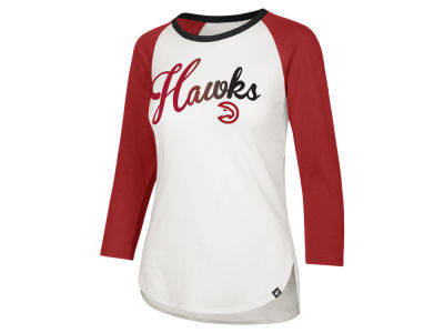 Atlanta Hawks '47 NBA Women's Splitter Ombre Raglan T-shirt
