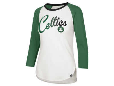 Boston Celtics '47 NBA Women's Splitter Ombre Raglan T-shirt