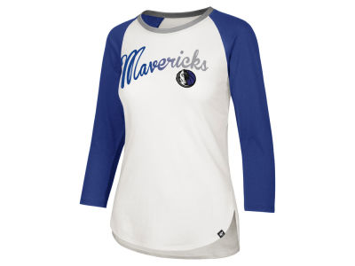 Dallas Mavericks '47 NBA Women's Splitter Ombre Raglan T-shirt