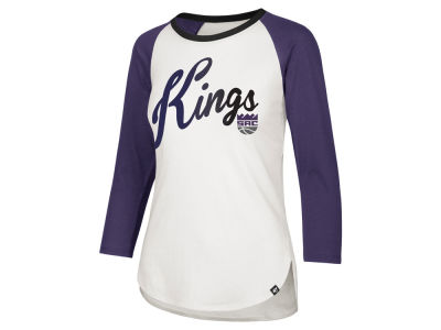 Sacramento Kings '47 NBA Women's Splitter Ombre Raglan T-shirt