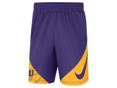 LSU Tigers Nike NCAA Men's Hybrid Short