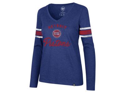 Detroit Pistons  47 NBA Women s Spirit Script Long Sleeve T-Shirt 9d39381e0