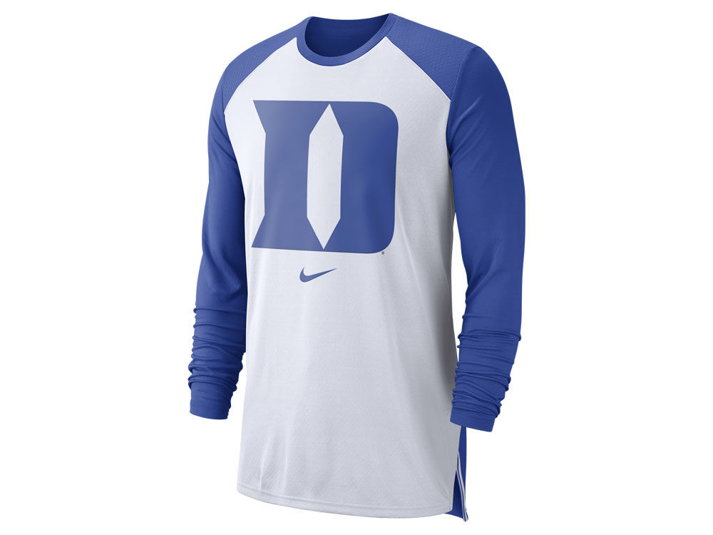 978dbb3ed94 Duke Blue Devils Nike NCAA Men s Breathe Shooter Long Sleeve T-Shirt
