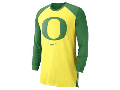 Oregon Ducks Nike NCAA Men's Breathe Shooter Long Sleeve T-Shirt