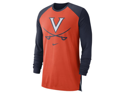 Virginia Cavaliers Nike NCAA Men's Breathe Shooter Long Sleeve T-Shirt