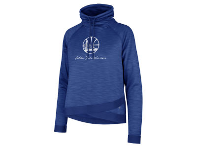 Golden State Warriors '47 NBA Women's Commuter Funnelneck Sweatshirt