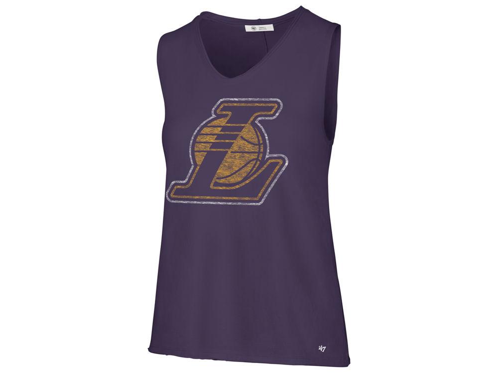 Los Angeles Lakers  47 NBA Women s Letter Tank  541a1acf34