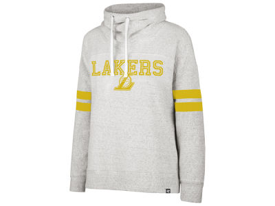 Los Angeles Lakers '47 NBA Women's Offsides Funnelneck Sweatshirt