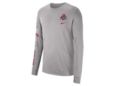 e650cf41b879 Nike NCAA Men s Long Sleeve Basketball T-Shirt Apparel at  OhioStateBuckeyes.com