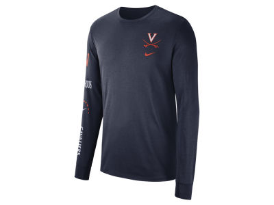 Virginia Cavaliers Nike NCAA Men's Long Sleeve Basketball T-Shirt