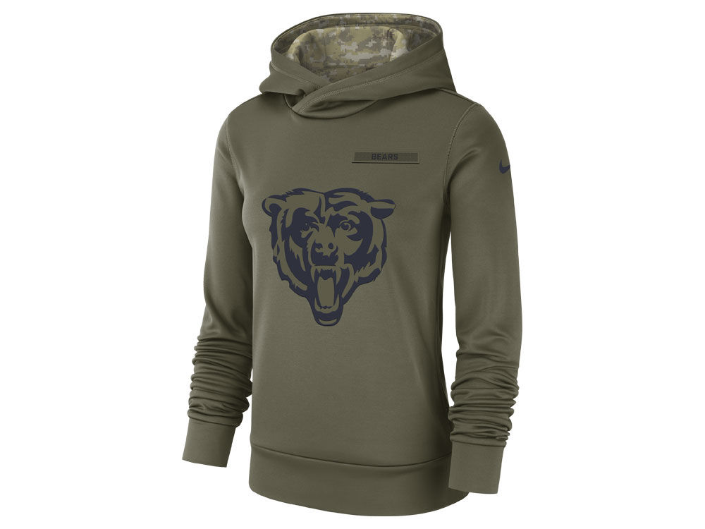 7204795c8 ... coupon code for chicago bears nike 2018 nfl womens salute to service  therma hoodie 7ba5d 1b545