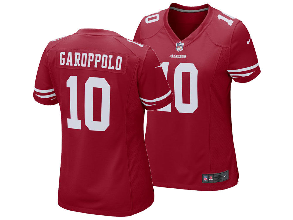 San Francisco 49ers Jimmy Garoppolo Nike NFL Women s Game Jersey ... 6df048cba9