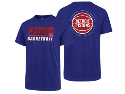 Detroit Pistons '47 NBA Men's Fade Back Super Rival T-Shirt