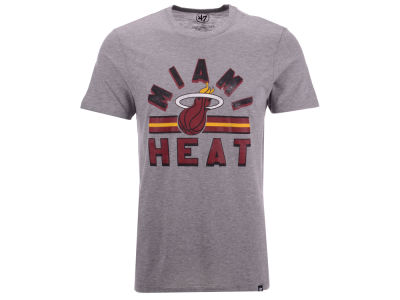 Miami Heat '47 NBA Men's Team Stripe Match T-Shirt