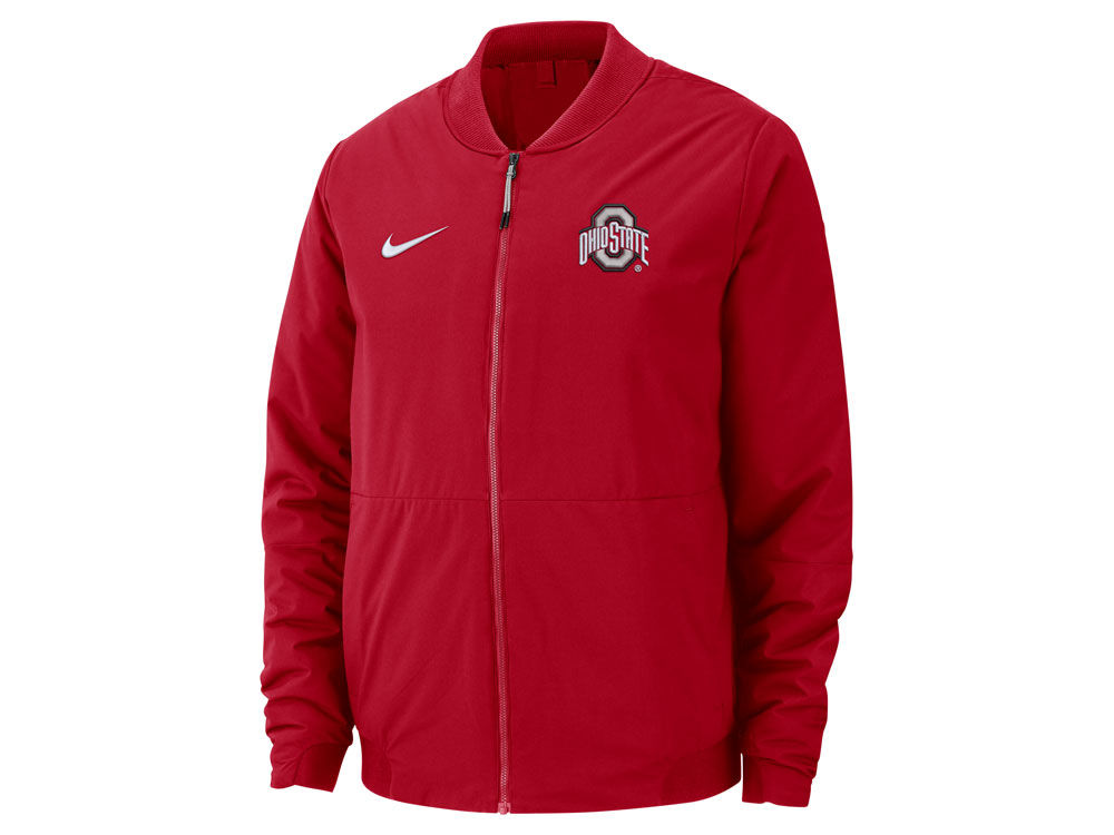 Ohio State Buckeyes Nike NCAA Men s Bomber Jacket  38d1f7791