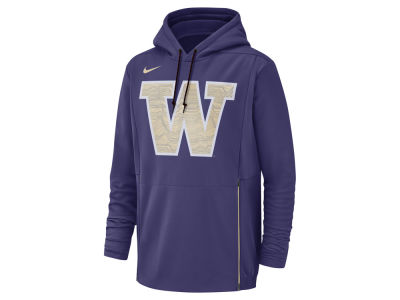 Washington Huskies Nike NCAA Men's Therma Pullover Hooded Sweatshirt