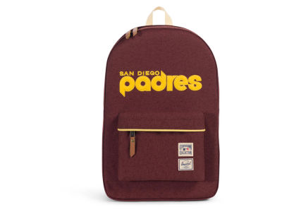 San Diego Padres Herschel MLB Cooperstown Collection Heritage Backpack