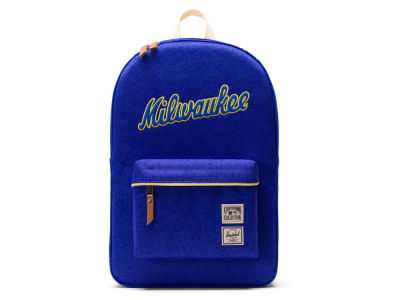 Milwaukee Brewers Herschel MLB Cooperstown Collection Heritage Backpack