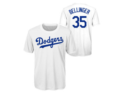 Los Angeles Dodgers Cody Bellinger Outerstuff MLB Youth Coop Poly Player T-Shirt