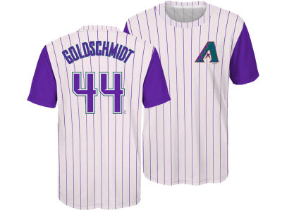 Arizona Diamondbacks Paul Goldschmidt Outerstuff MLB Youth Coop Poly Player T-Shirt