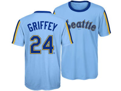 Seattle Mariners Ken Griffey Jr. Outerstuff MLB Youth Coop Poly Player T-Shirt
