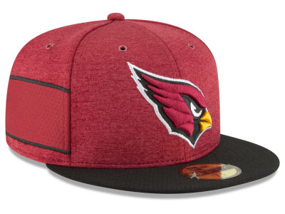 Arizona Cardinals New Era 2018 Official NFL Sideline Home 59FIFTY Cap
